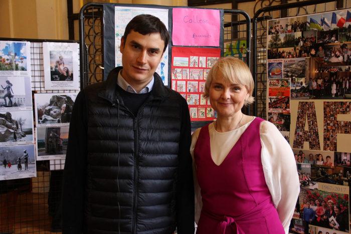 С писателем Сергеем Шаргуновым
