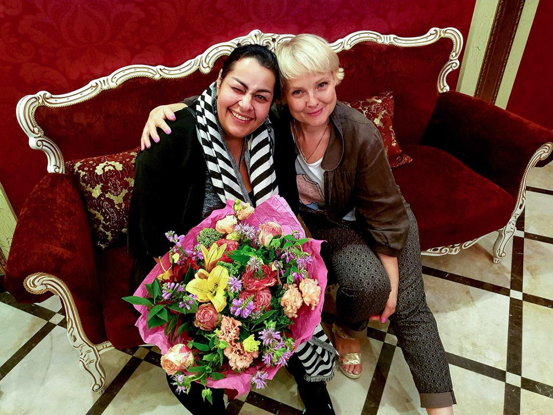 Мариам Мерабова и ГБ